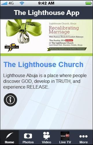 【免費個人化App】The Lighthouse App-APP點子