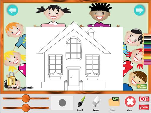 涂色游戏:我的家|玩教育App免費|玩APPs