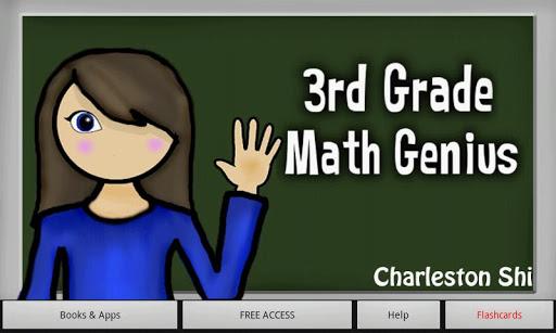 3rd Grade Math Genius Prof.