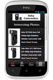 Veho Camcorders - screenshot thumbnail