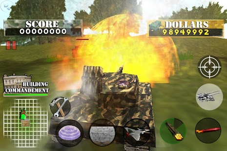 Tank War Defender 2- screenshot thumbnail