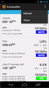 Avioweather - screenshot thumbnail