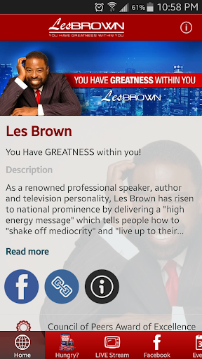 The OFFICIAL Les Brown App
