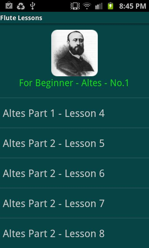 Flute Lessons - Altés No.1 - screenshot