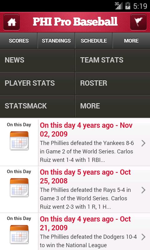Philadelphia Pro Baseball - screenshot