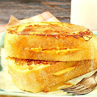 Pumpkin Cream Cheese Stuffed French Toast