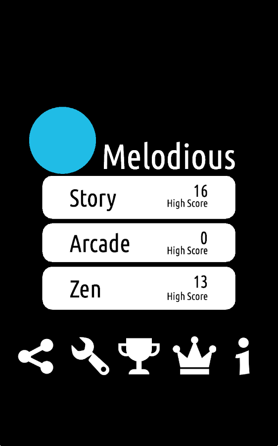 Melodious- screenshot