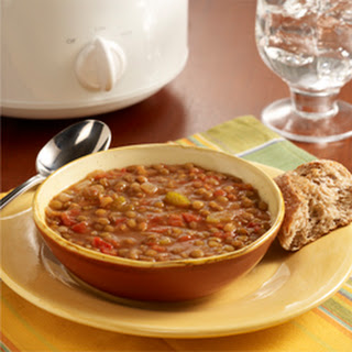 Slow Cooker Lentil Soup Recipe