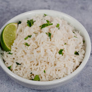 Copycat Chipotle's Cilantro Lime Rice.