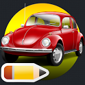 How to draw Cars icon