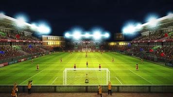 Screenshot of Striker Soccer Euro 2012