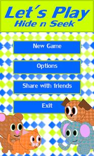 Let's play Hide n Seek screenshot