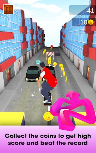 Street Skateboard Party