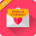 Festival Invitation Pro icon
