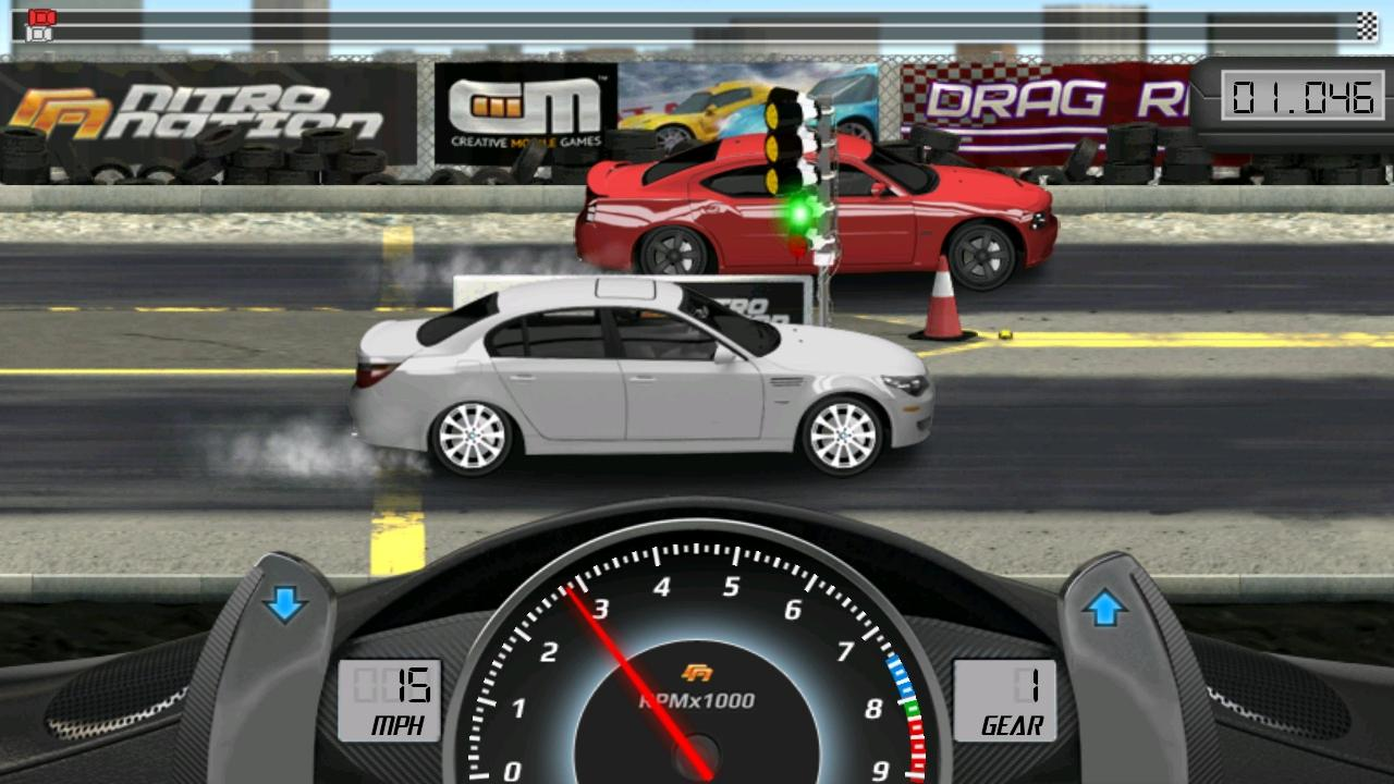 Drag racing android apps on google play for Play motor racing games