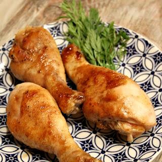 Honey- Molasses Chicken Drumsticks.