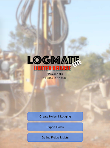 LogMATE -Geology Logging