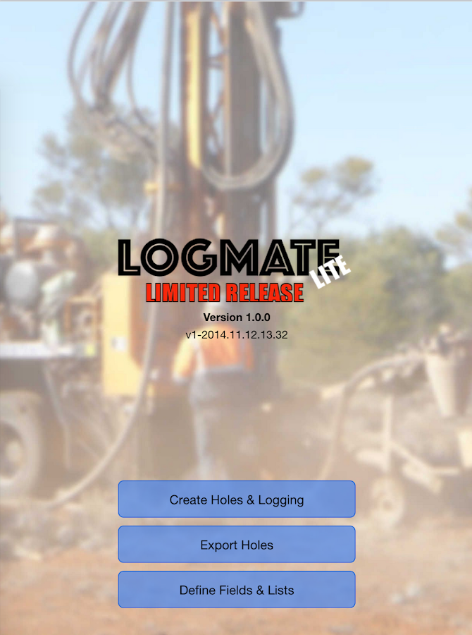 LogMATE -Geology Logging- screenshot