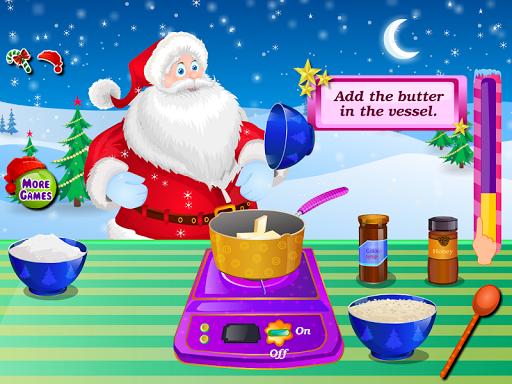 巧克力蛋糕聖誕節遊戲