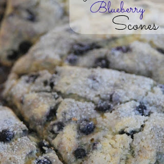Gluten-Free Blueberry Scones Recipe