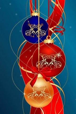 Christmas Holiday Wallpaper i. - screenshot