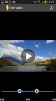 Screenshot of Video Trimmer - Video Cutter