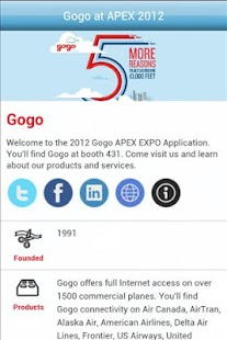 Gogo at Apex Expo 2012 - screenshot thumbnail