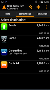 GPS Arrow Navigator LITE - screenshot thumbnail