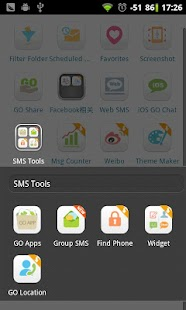 GO SMS Group sms plug-in 3 - screenshot thumbnail