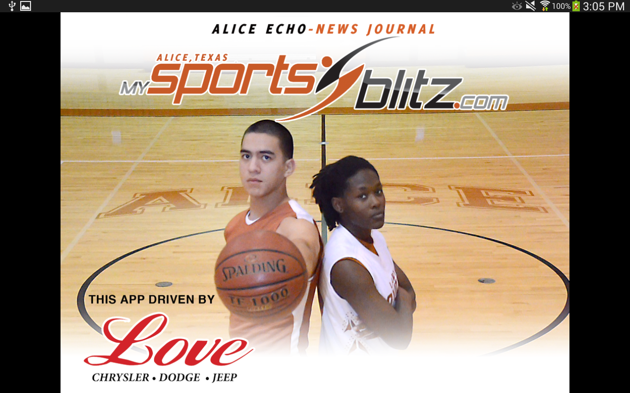 Alice MySportsBlitz.com - screenshot
