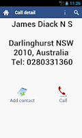 Screenshot of Sybla Australia - Caller ID