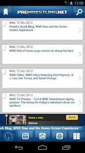 ProWrestling.Net: Latest News! - screenshot thumbnail