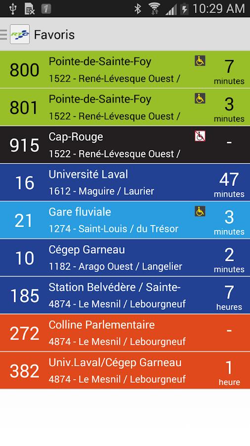 RTC Mobile - screenshot