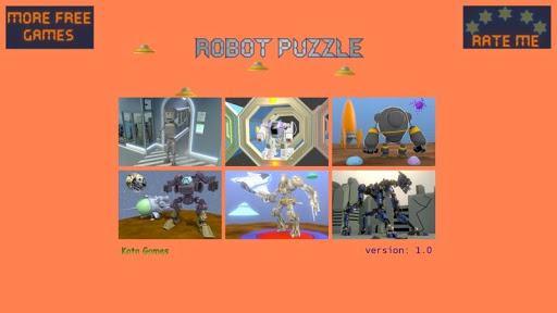 Robot Puzzle - Game For Kids