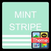 stripecolor-mint K