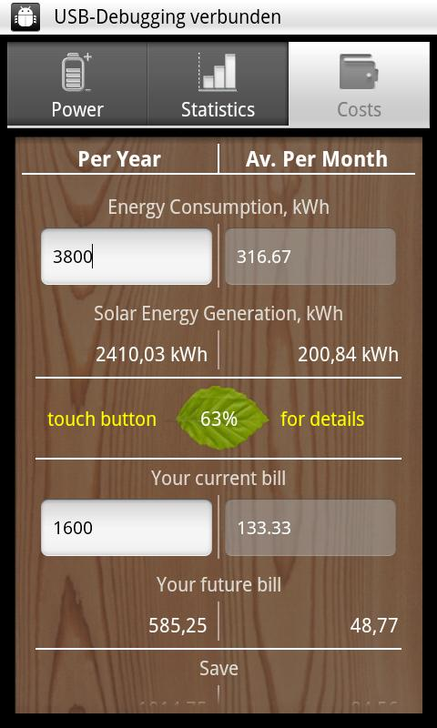 SolarMeter solar panel planner- screenshot