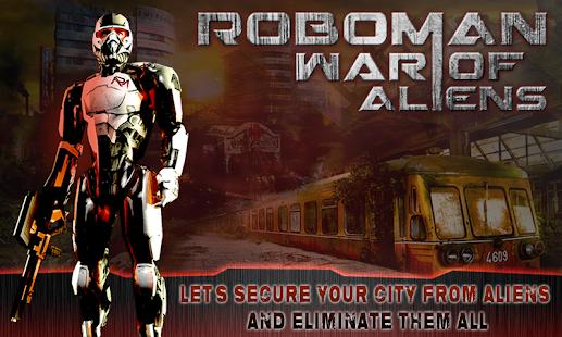 免費動作App|RoboMan - 外星人的戰爭|阿達玩APP