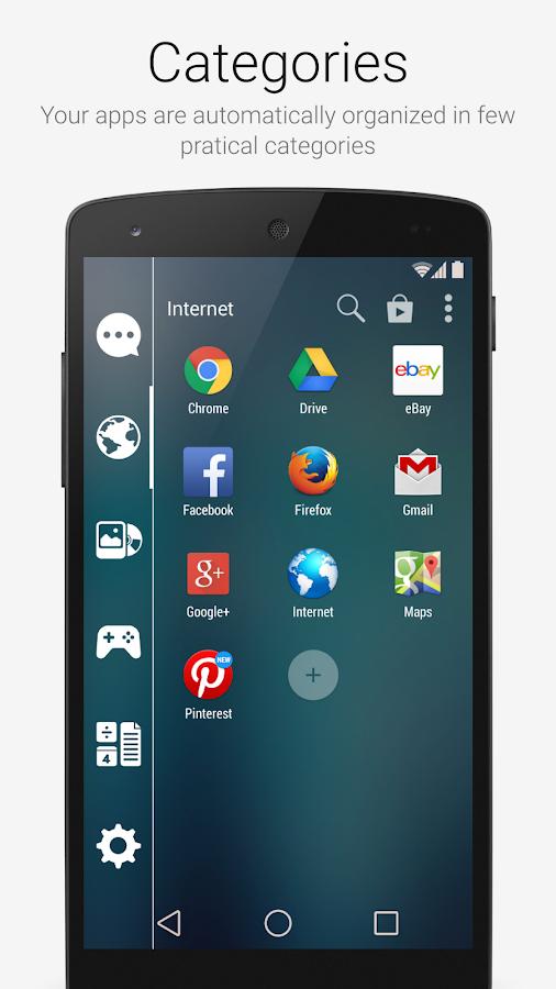 Smart Launcher 2 - screenshot