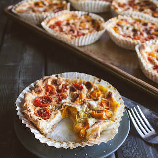 Grape Tomato Tarts