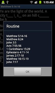 Scripture Mastery Helper- screenshot thumbnail
