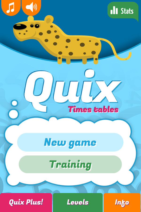 Quix Times Tables- screenshot