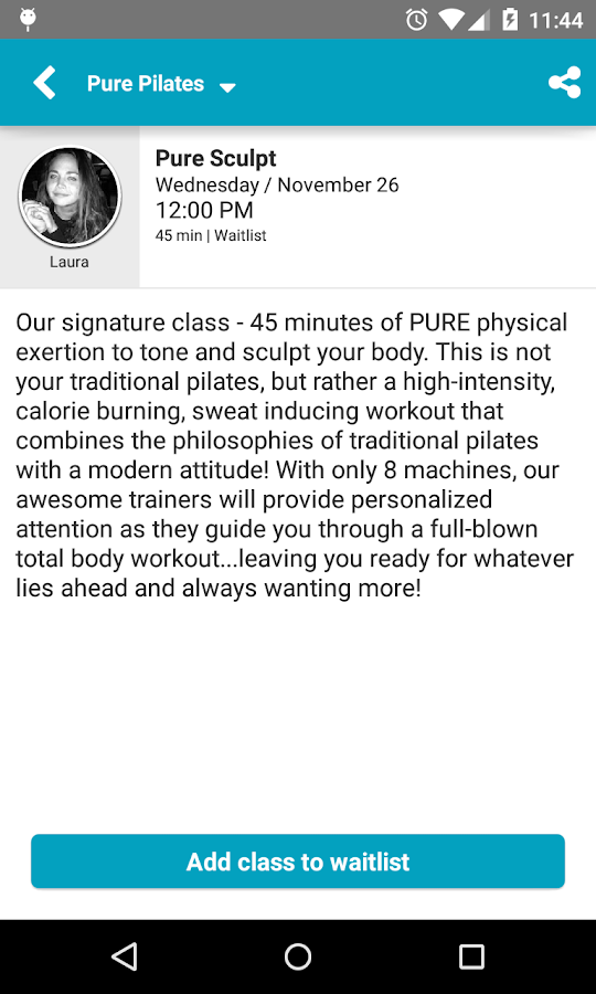 Pure Pilates Austin- screenshot