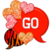 GO SMS - Hearts Fire Zebra