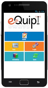 eQuip! Mobile Asset Manager - náhled