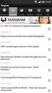 Tangram Recruitment App - screenshot thumbnail