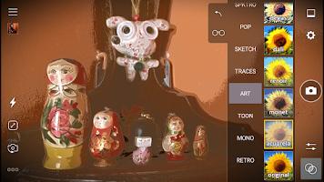 Screenshot of Cameringo Lite. Effects Camera