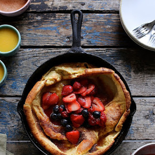 Triple Berry Dutch Baby.