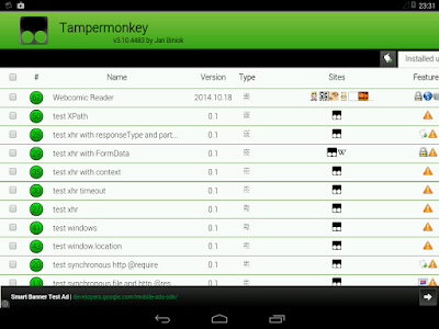 Download Tampermonkey Dolphin APK latest version app for android devices