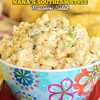 Southern Style Macaroni Salad.