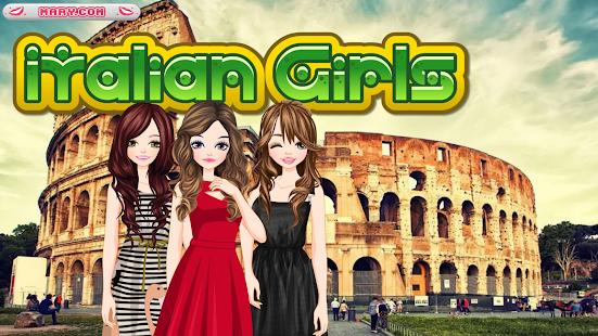Italian Girls - free games